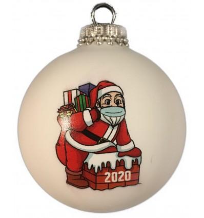 Julemand med mundbind